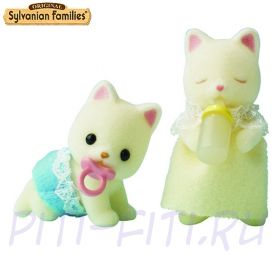 "Sylvanian Families. Набор ""Двойняшки котята"""