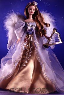 Коллекционная кукла Барби Ангел с арфой - Harpist Angel Barbie Doll