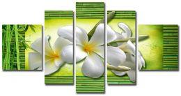 бамбук и цветы