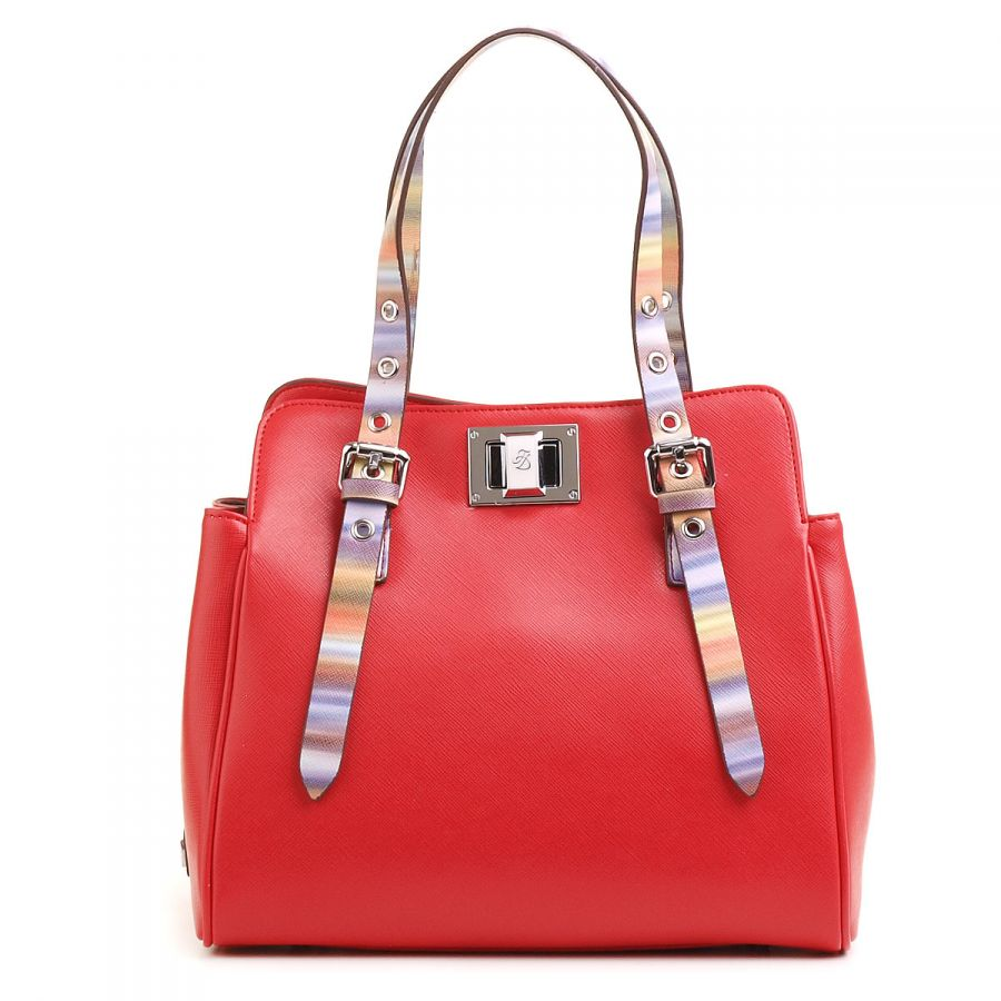 Красная сумка Fiato