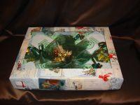 Зимний набор - подарочный набор с чаем и конфетами.
