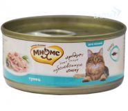 Мнямс Консервы для кошек Тунец в нежном желе (70 г)