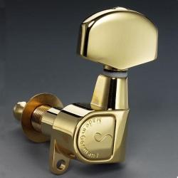 SCHALLER 505a M6GL A -Gold Колки для электрогитары (6 в линию)