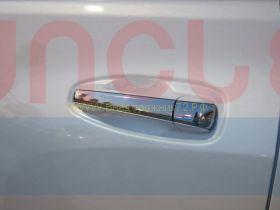 Хромированные накладки на ручки  (Тип 3) для Toyota Land Cruiser Prado 150