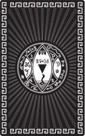 """МАГИЧЕСКАЯ КАРТА """"ПЕНТАКЛЬ, ДАЮЩИЙ КОНТРОЛЬ НАД ДЕНЕЖНЫМИ ПОТОКАМИ"""", 90Х57 ММ, СТАЛЬ С ПОКРЫТИЕМ"""