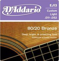 D`ADDARIO EJ13 (011-052) Струны для акустической гитары