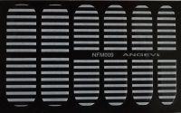 """Наклейки для ногтей """"Белые"""" NFM 009"""