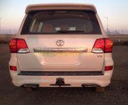 Аэродинамическая накладка на задний бампер губа LX VIP для Toyota Land Cruiser 200