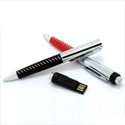 16GB USB-флэш накопитель Apexto U502Z ручка в красной оплетке