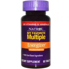 Natrol My Favorite Multiple Energizer 60 (табл.)