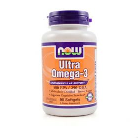NOW Ultra Omega-3 (90 капс.)