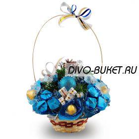 """Букет из конфет №367 """"Новогодний этюд"""""""