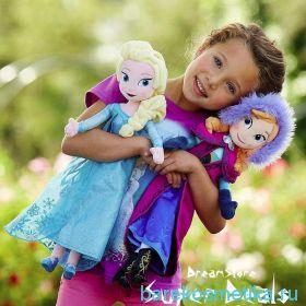 Кукла Анна  и кукла Эльза мягкая
