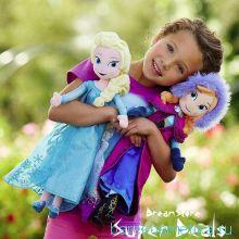 Мягкие куклы Анна и Эльза Дисней