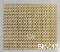 """Наклейка для дизайна ногтей на клеевой основе """"Золото"""" BM - 01Z"""