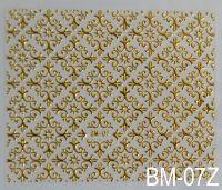 """Наклейка для дизайна ногтей на клеевой основе """"Золото"""" BM - 07Z"""