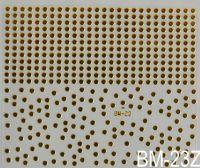 """Наклейка для дизайна ногтей на клеевой основе """"Золото"""" BM - 23Z"""