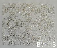 """Наклейка для дизайна ногтей на клеевой основе """"Серебро"""" BM - 11S"""