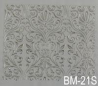 """Наклейка для дизайна ногтей на клеевой основе """"Серебро"""" BM - 21S"""