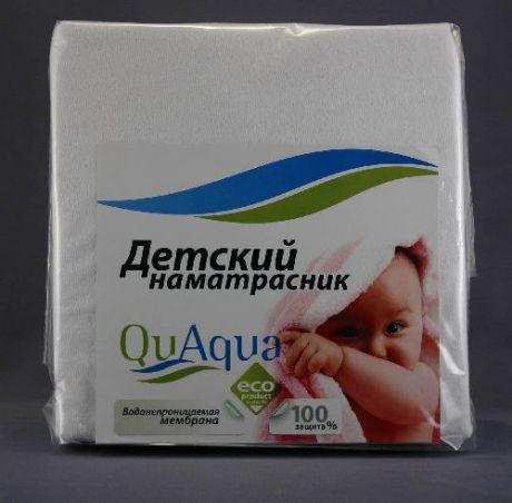 """Наматрасник непромокаемый натяжной """"Qu Aqua"""" (микрофибра)"""
