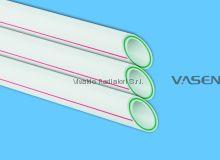 Труба 110мм стекловолокно VASEN полипропиленовая (трубы PPR-FB-PPR (PPR/Fb/PPR) полипропиленовые армированные)