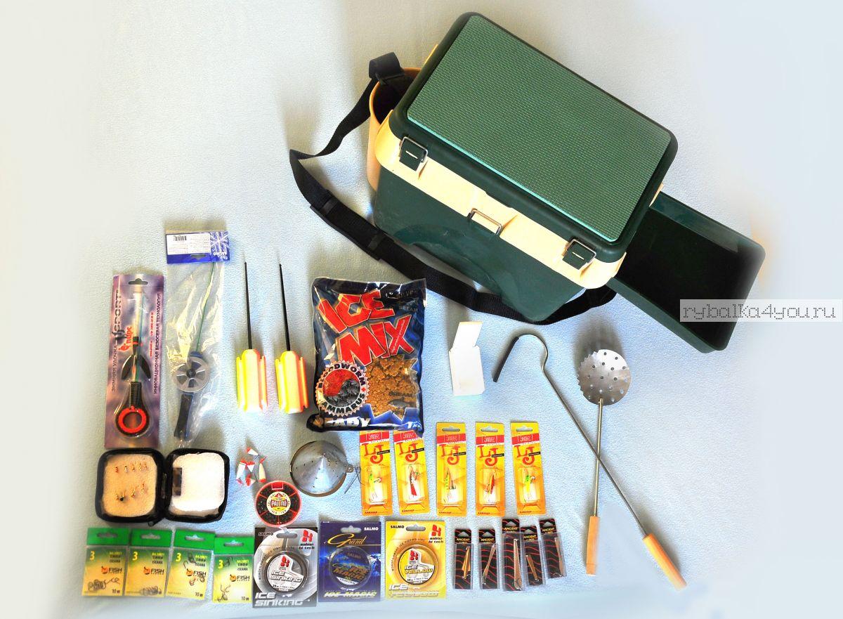 Рыболовные комплекты и наборы для рыбалки для начинающих