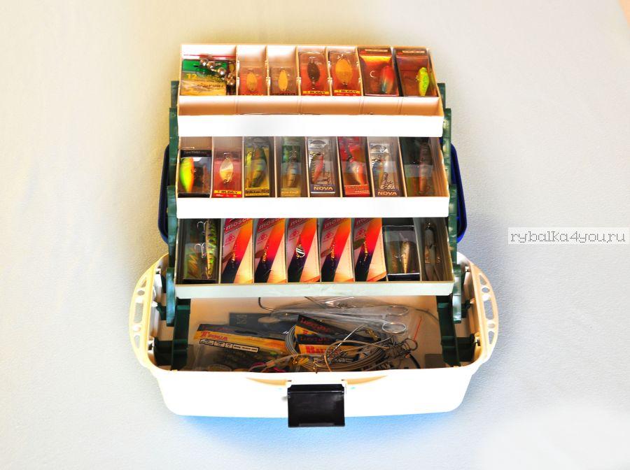Ящик Спиннинговый с наполнением Заядлый рыбак