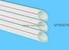 Труба VASEN полипропиленовая 40мм PPR-Al-PPR PN2.5 (трубы полипропиленовые армированные алюминием PPR/AL/PPR)
