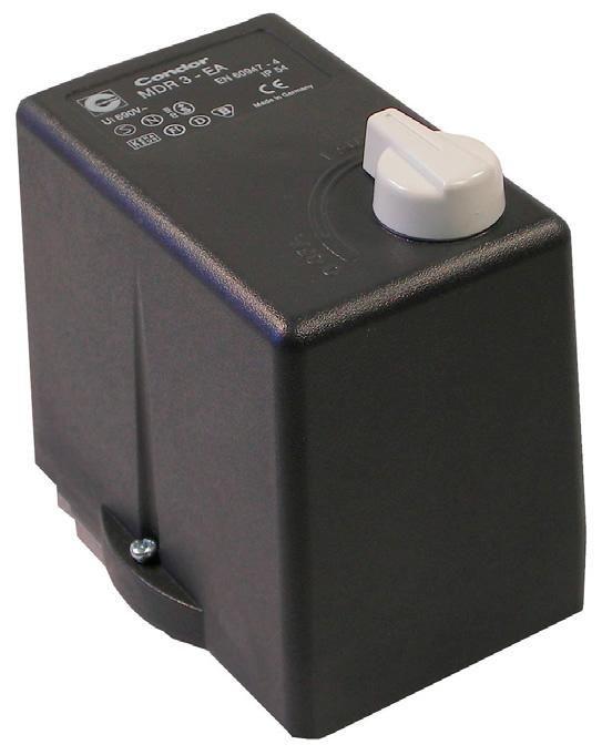 Реле давления Condor MDR3/11 16 А  Aмпер 380B
