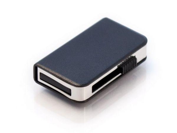 8GB USB-флэш накопитель Apexto UM9013, книга слайдер, черная