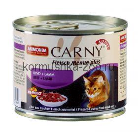 Animonda Carny Adult консервы для кошек Говядина/Ягнёнок
