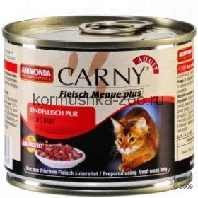 Animonda Carny Adult консервы для кошек Отборная говядина
