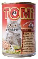 Toмi Консервы для кошек (с говядиной)