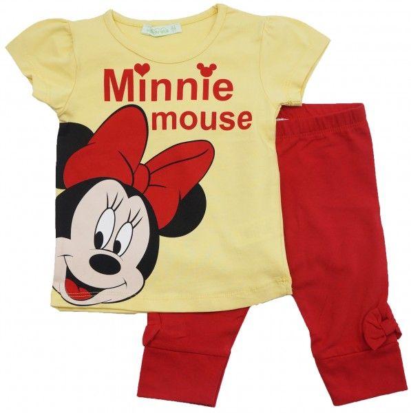 Майка и штанишки Минни Маус