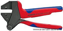 Инструмент для опрессовки системный, для сменных опрессовочных плашек KNIPEX 97 43 200 A