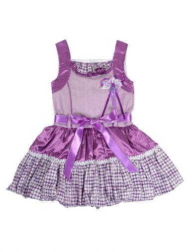 Очаровательное платье из атласа и хлопка без рукавов