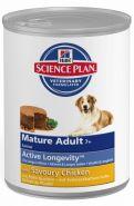 Hill's Canine Mature Adult 7+ Консервы для пожилых собак с курицей (370 г)