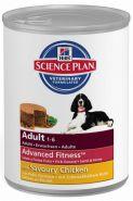 Hill's Canine Adult Savoury Chicken Консервы для взрослых собак с курицей (370 г)