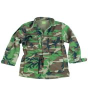 куртка US FELDJACKE TYP BDU R/S CO PREWASH W/L