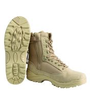 Берцы ТACTICAL BOOT M.YKK ZIPPER KHAKI