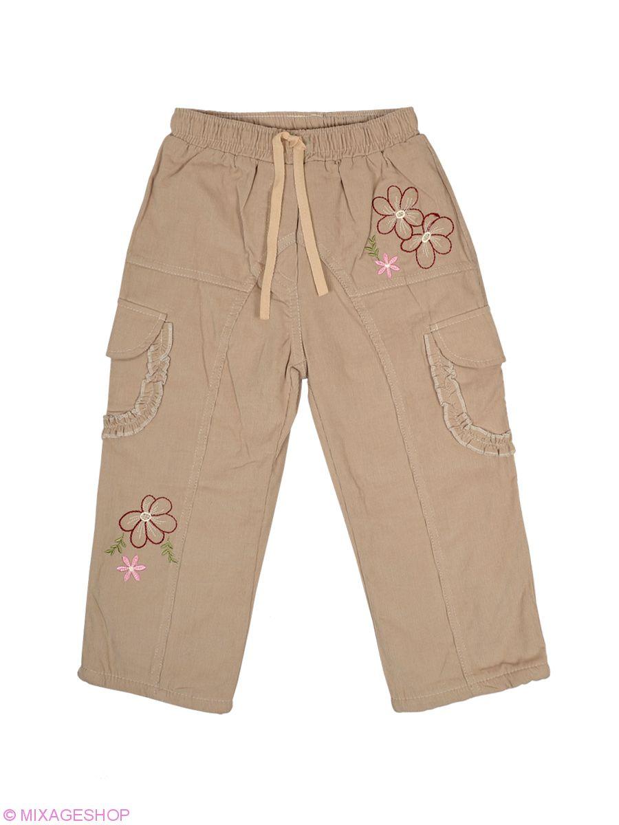 Бежевые вельветовые брюки с подкладкой на флисе