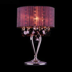 Настольная лампа 3153/1T хром/гранатовый