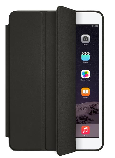 Фирменный кожаный чехол для iPad mini 4  Apple Smart Case, цвет black