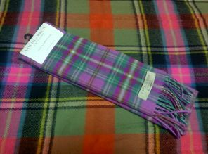 шарф 100% шерсть , тартан Лорда Кеймса LONG KAMES CHECK.