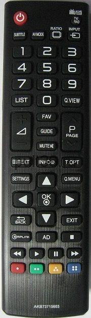Пульт LG AKB 73715603