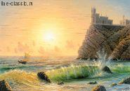 Классика Ласточкино гнездо ГА 1 60х100 Багет Ф 79 - 316 Рама 8