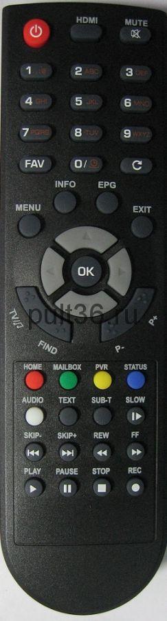 Пульт Globo E RCU-015 (телекарта HD X8)