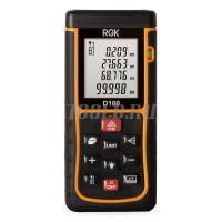 Лазерный дальномер RGK D100 - купить в интернет-магазине www.toolb.ru цена и обзор