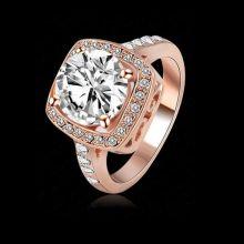 Ювелирное кольцо Ахен с покрытием золотом