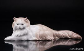 Ангорская кошка, Lladro, Испания.